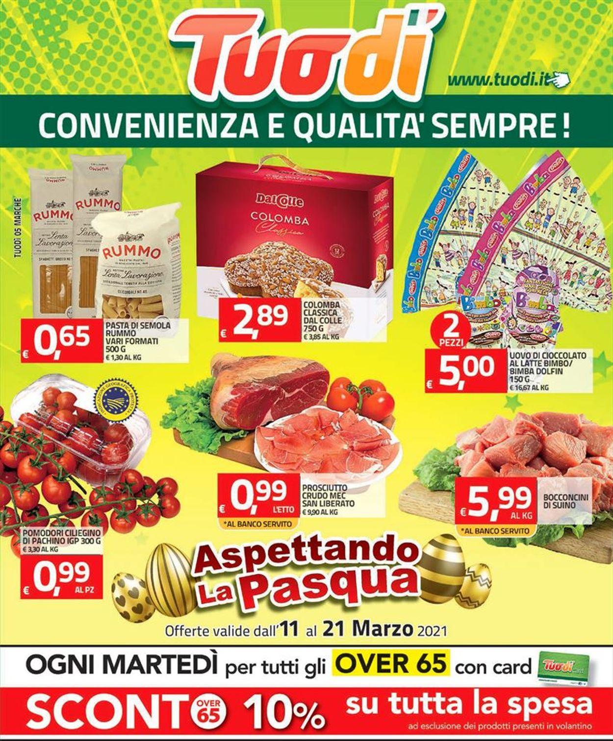 Volantino Tuodi - Offerte 11/03-21/03/2021