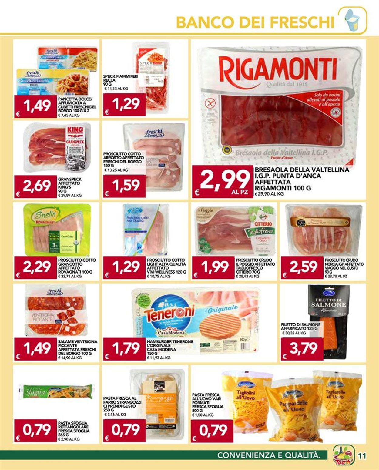 Volantino Tuodi - Offerte 08/04-19/04/2021 (Pagina 11)