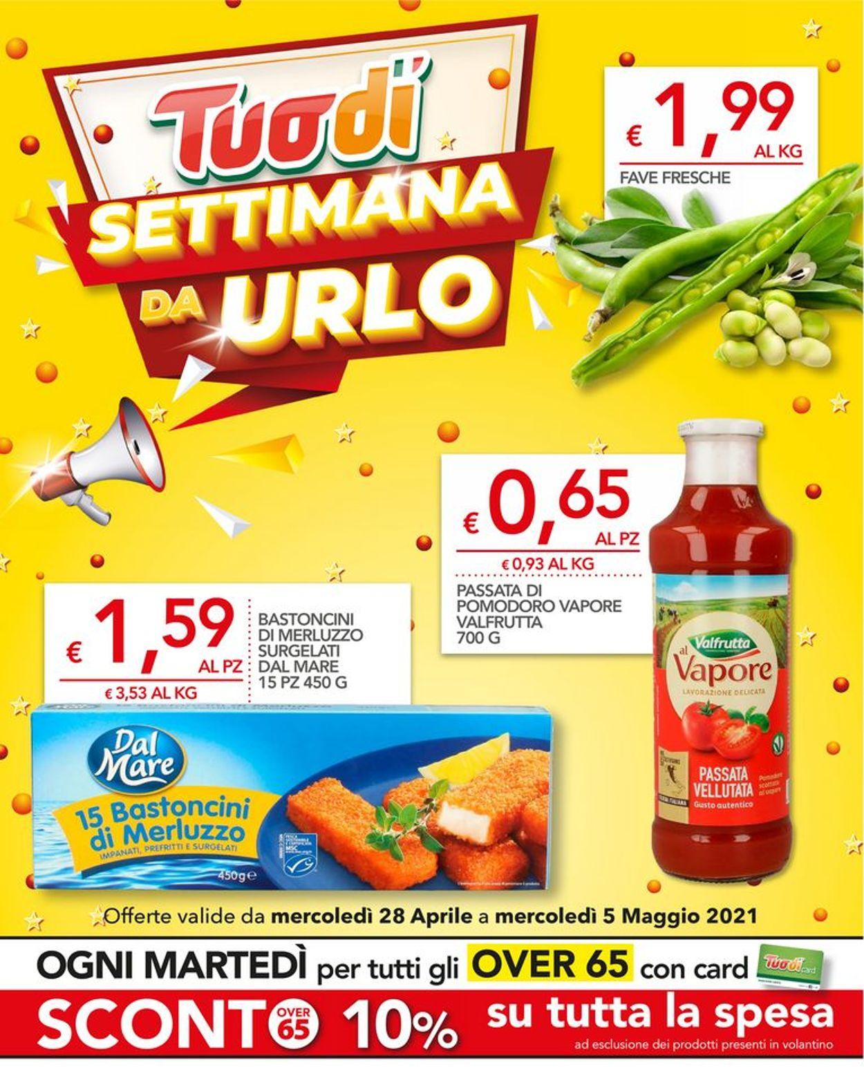 Volantino Tuodi - Offerte 28/04-05/05/2021