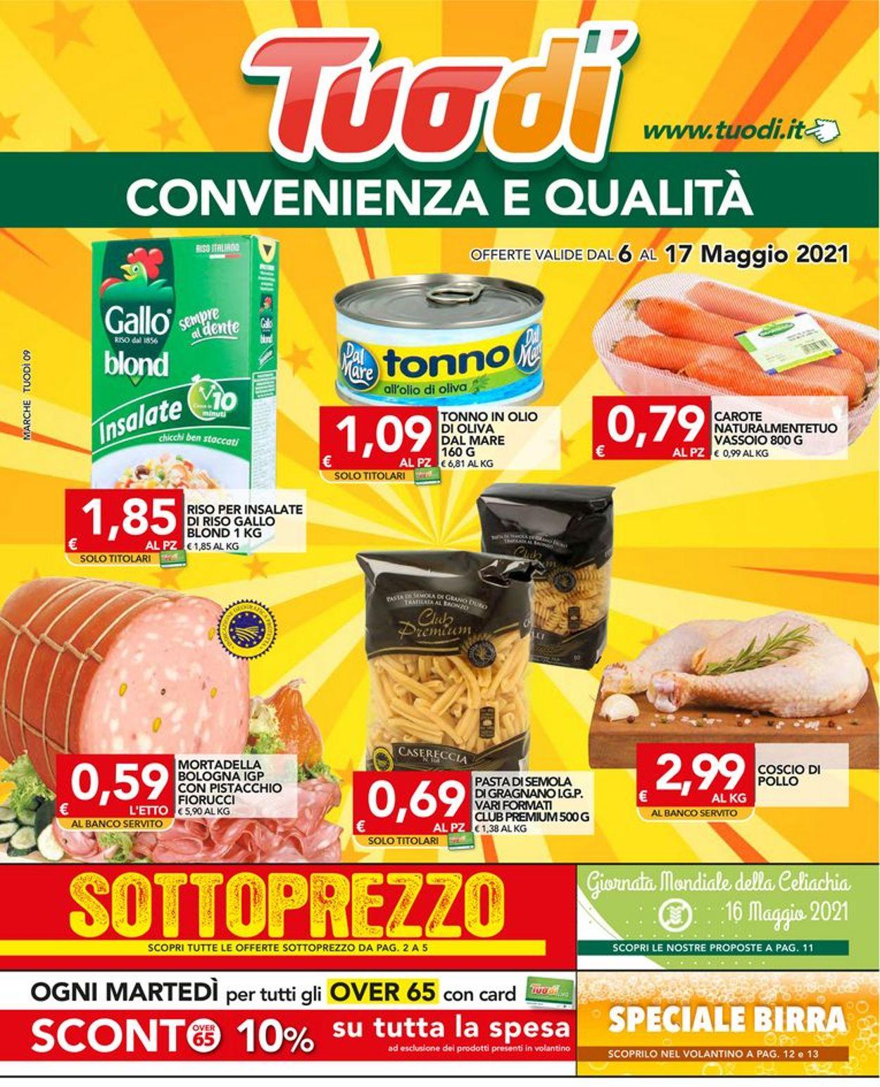 Volantino Tuodi - Offerte 06/05-17/05/2021