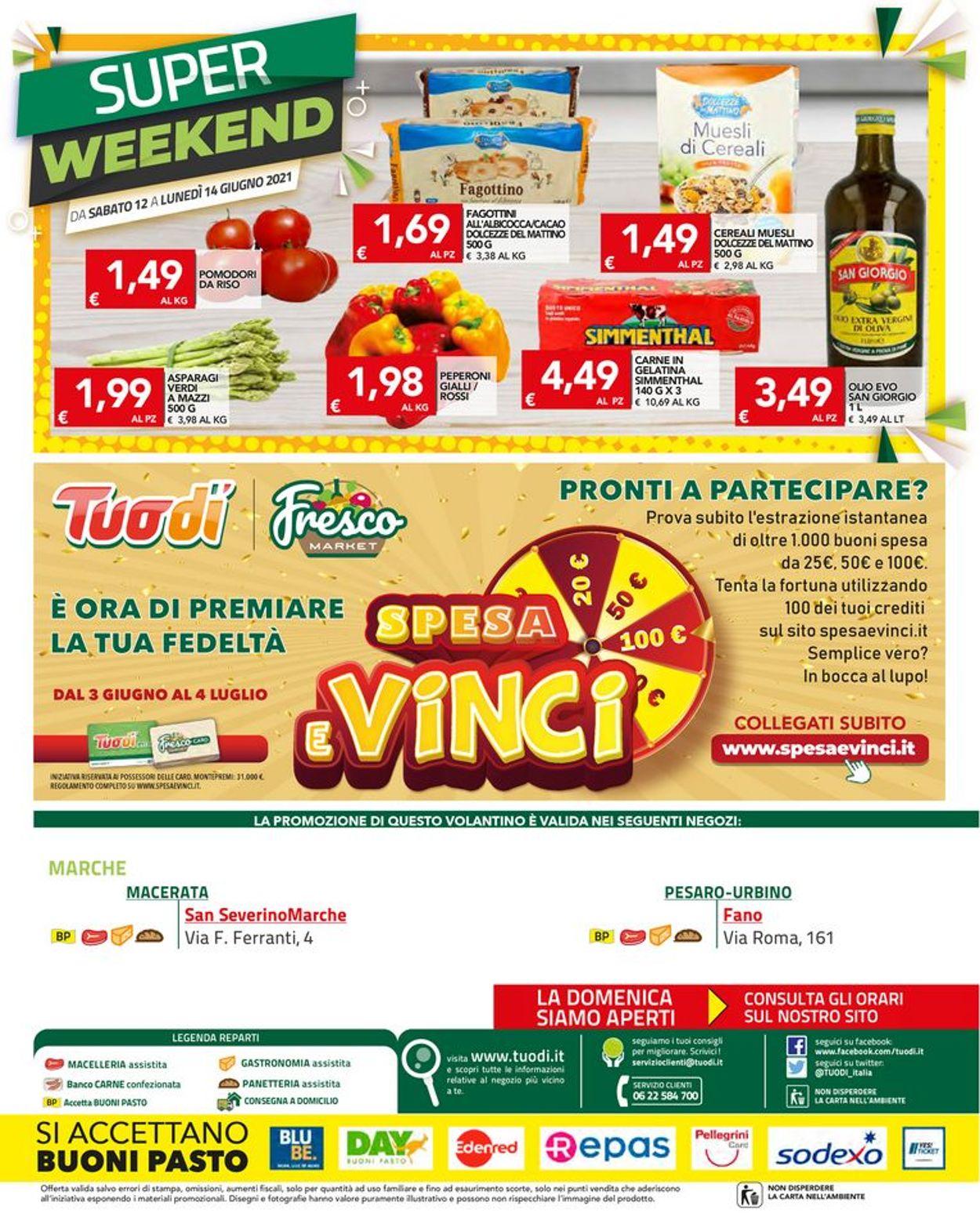 Volantino Tuodi - Offerte 03/06-14/06/2021 (Pagina 16)