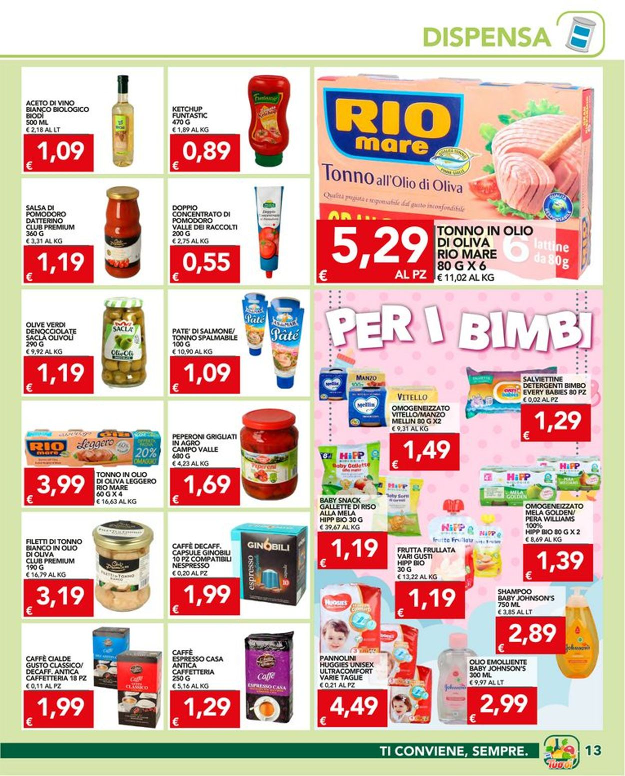 Volantino Tuodi - Offerte 01/07-12/07/2021 (Pagina 13)