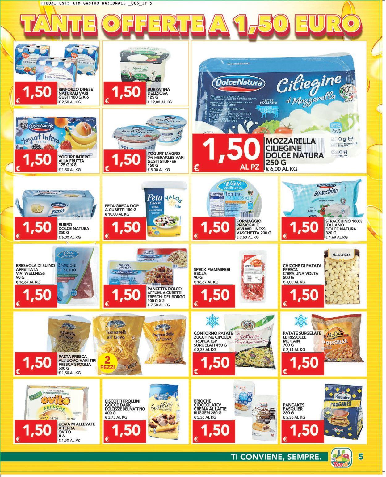 Volantino Tuodi - Offerte 29/07-09/08/2021 (Pagina 5)