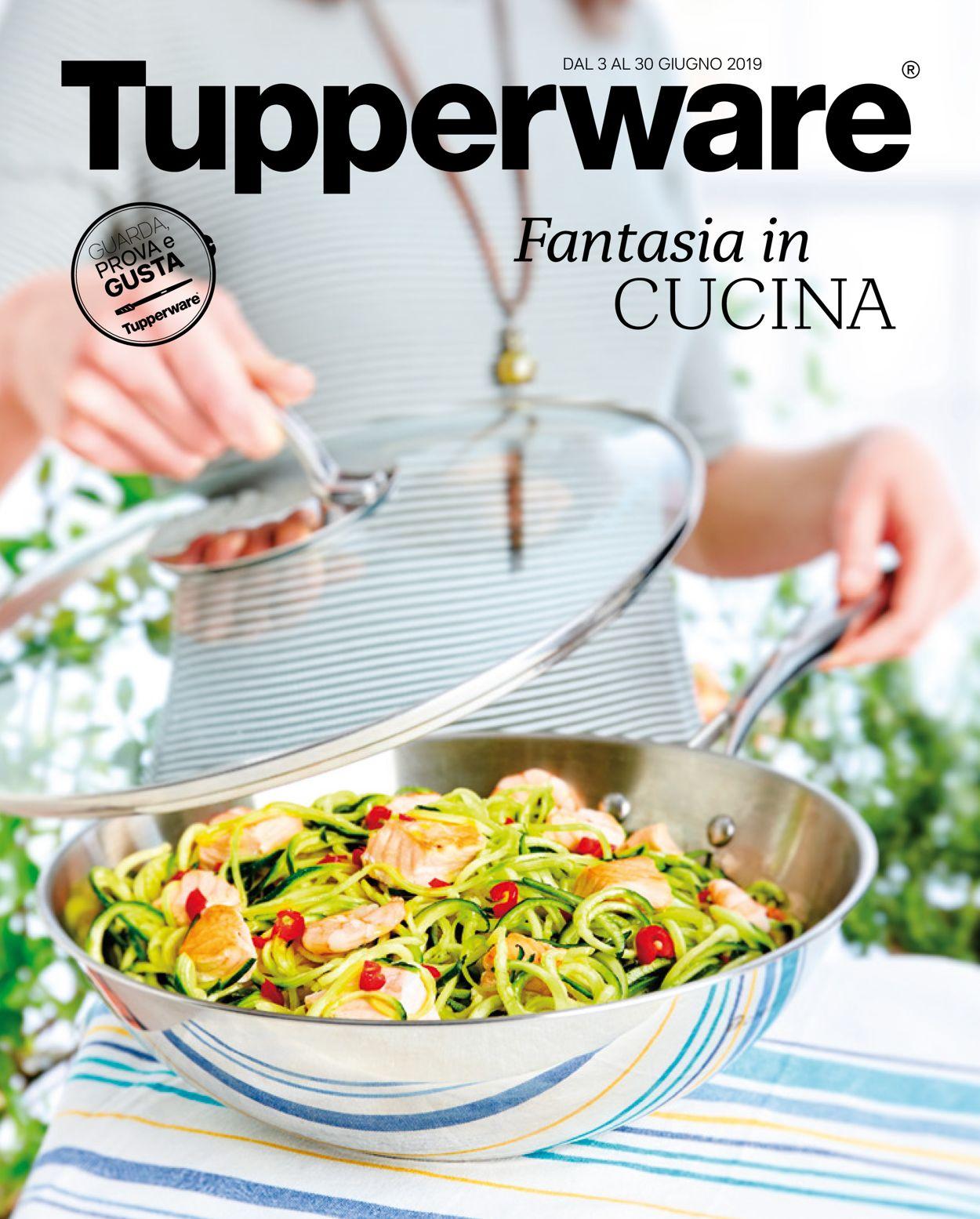 Volantino Tupperware - Offerte 03/06-30/06/2019