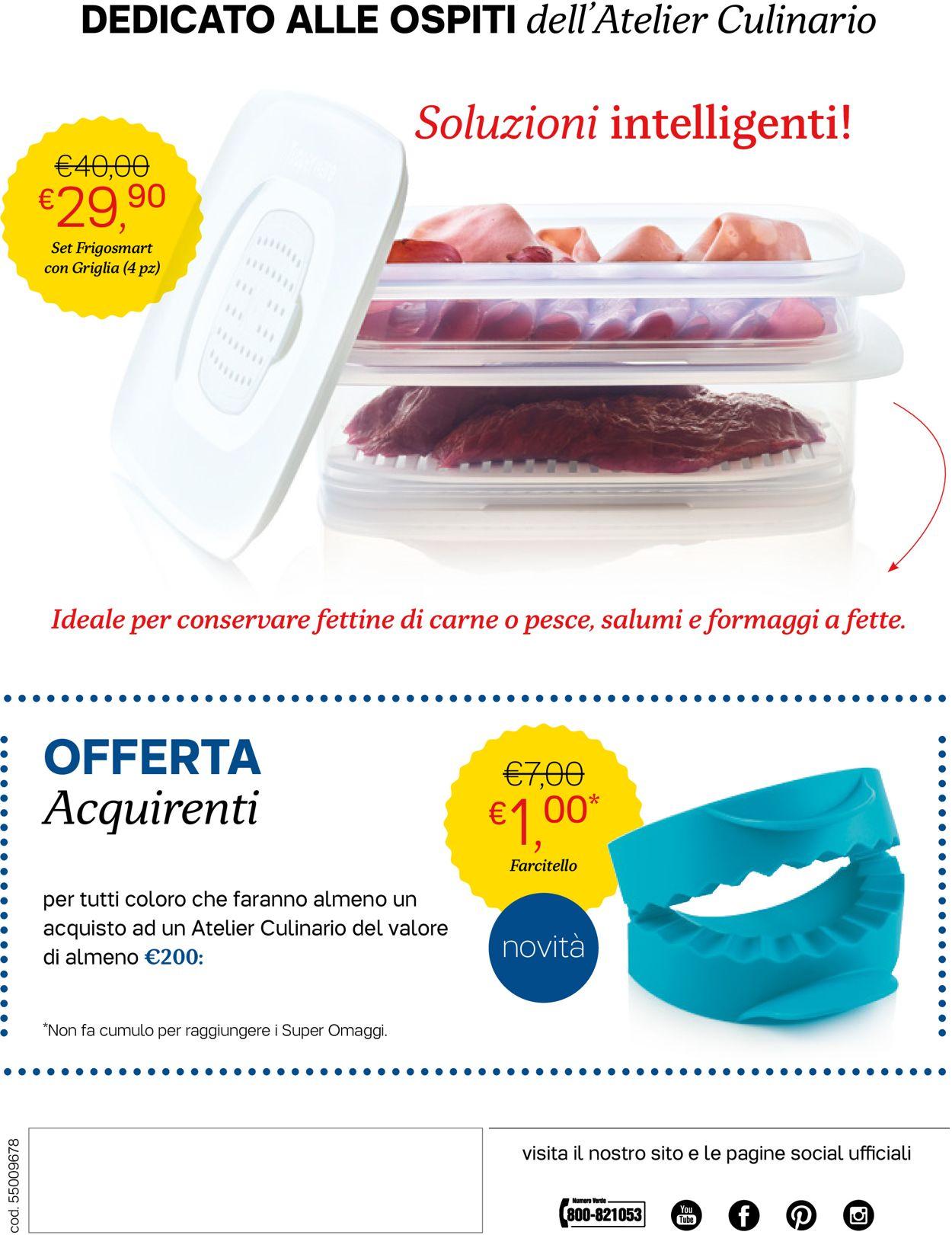 Volantino Tupperware - Offerte 03/06-30/06/2019 (Pagina 12)