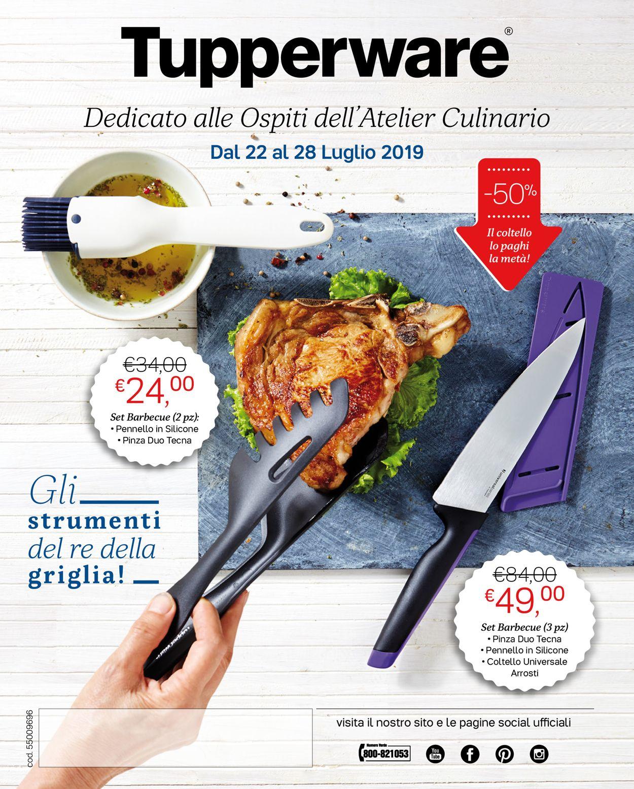 Volantino Tupperware - Offerte 22/07-28/07/2019