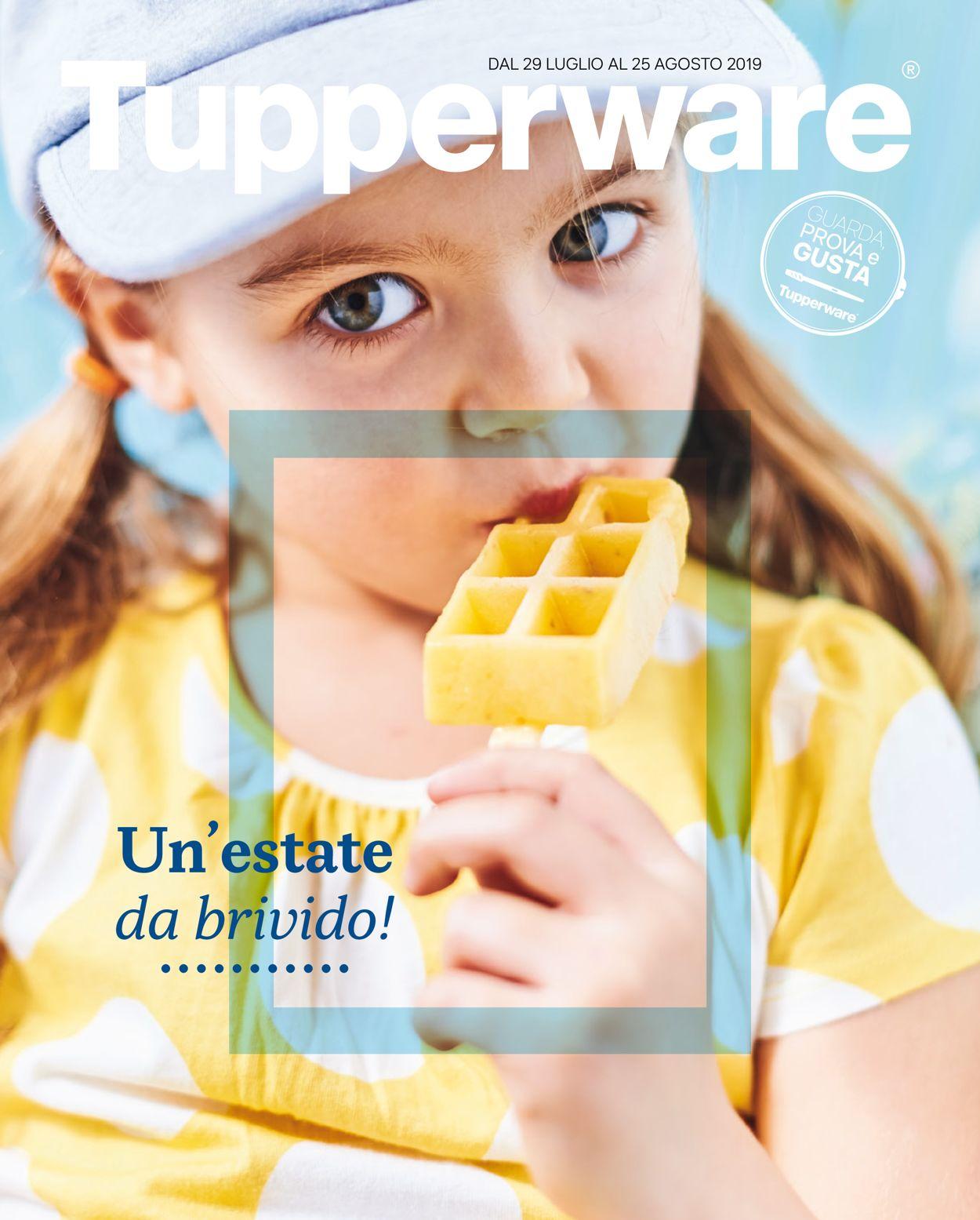 Volantino Tupperware - Offerte 29/07-25/08/2019