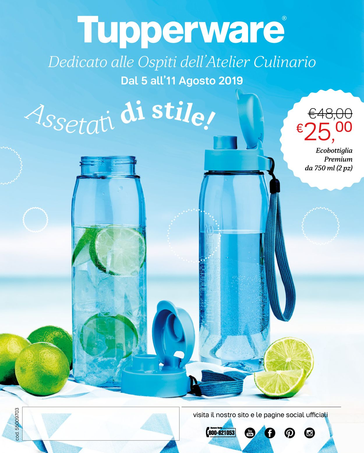 Volantino Tupperware - Offerte 05/08-11/08/2019
