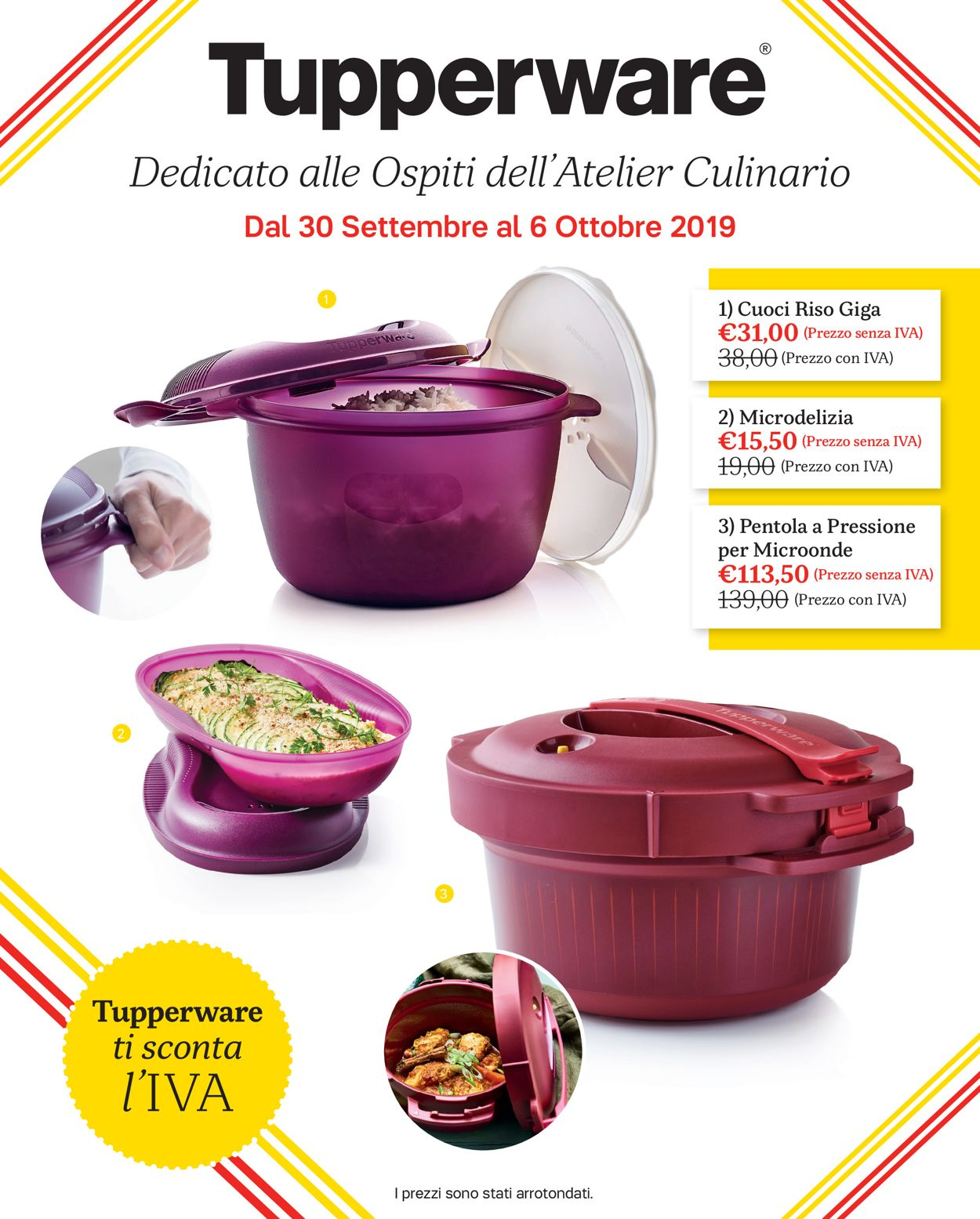 Volantino Tupperware - Offerte 30/09-06/10/2019