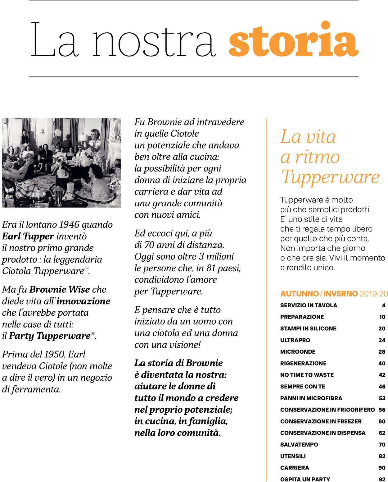 Volantino Tupperware - Offerte 01/10-31/01/2020 (Pagina 3)