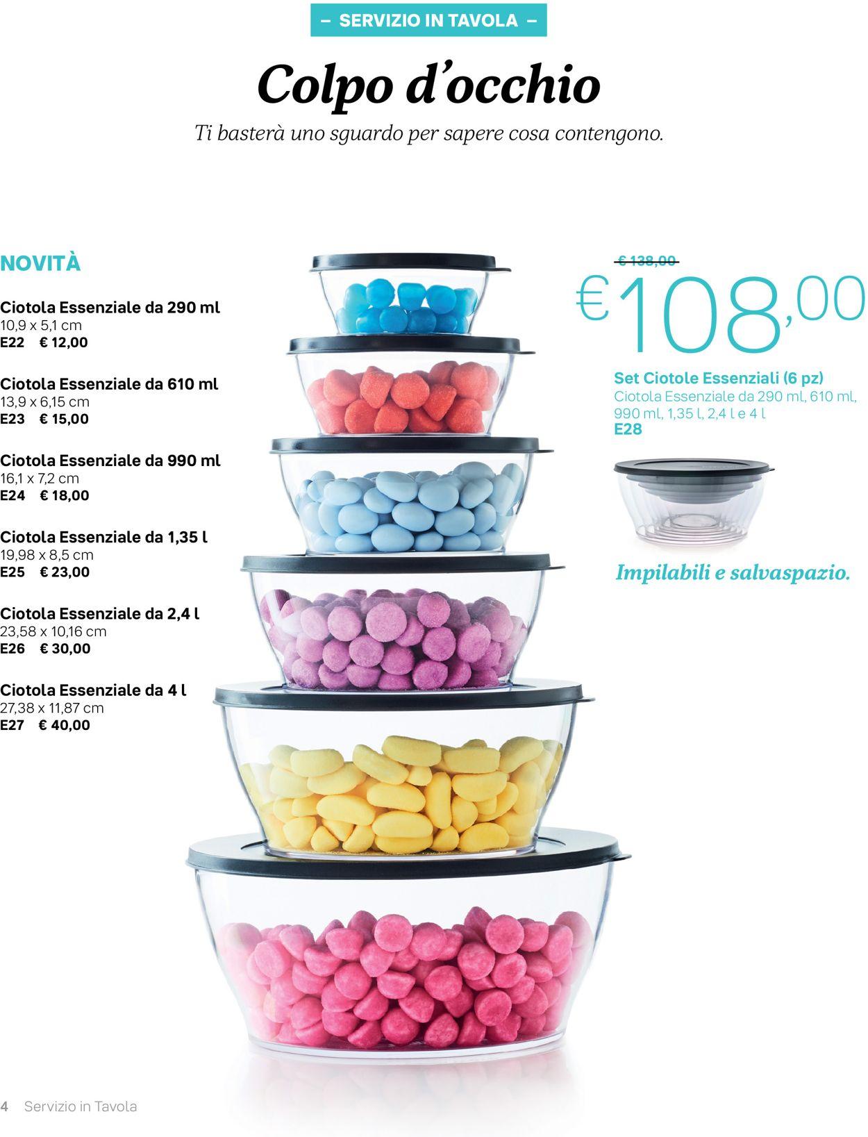 Volantino Tupperware - Offerte 01/10-31/01/2020 (Pagina 4)