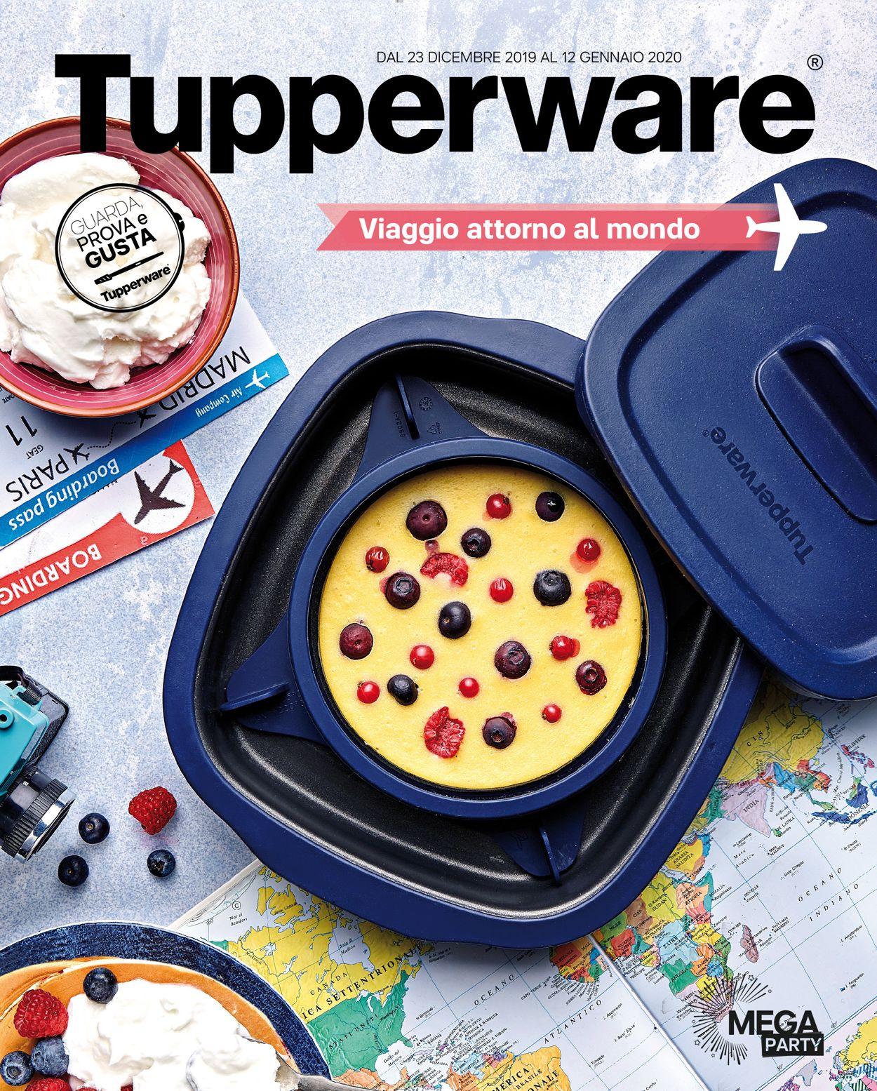 Volantino Tupperware - Offerte 23/12-12/01/2020