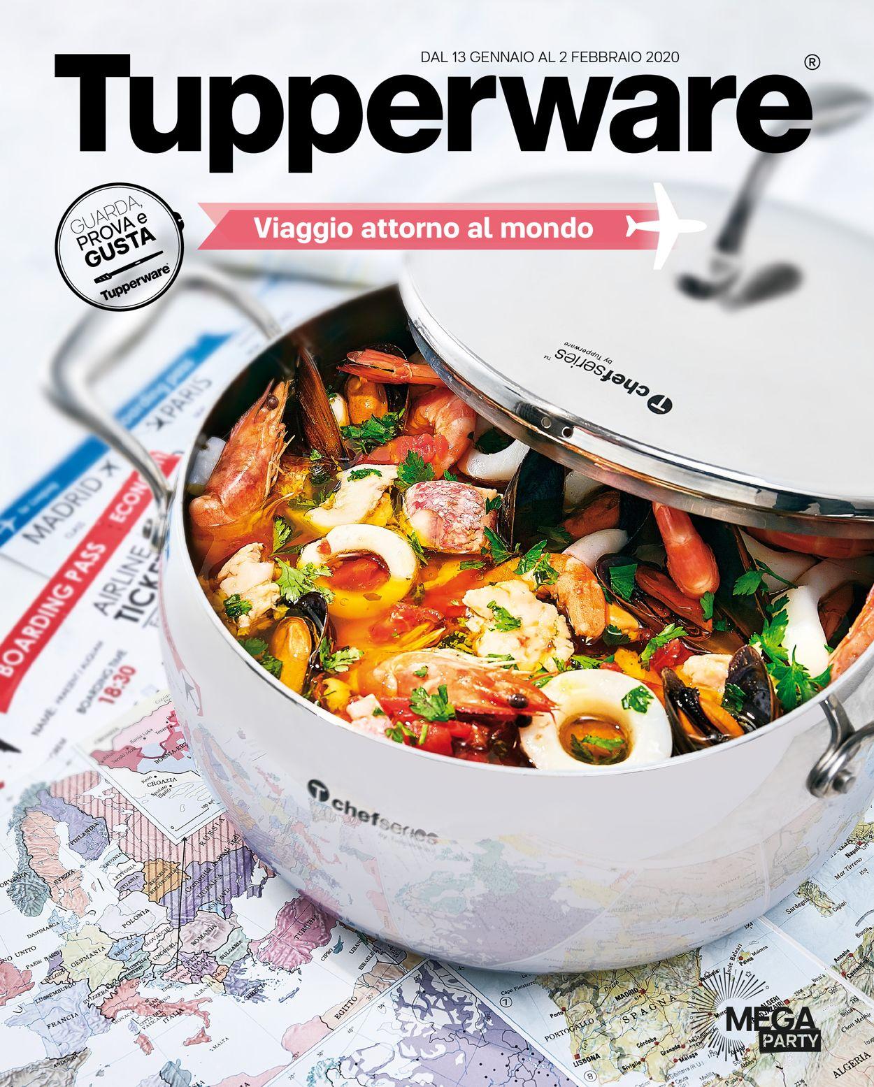 Volantino Tupperware - Offerte 13/01-02/02/2020