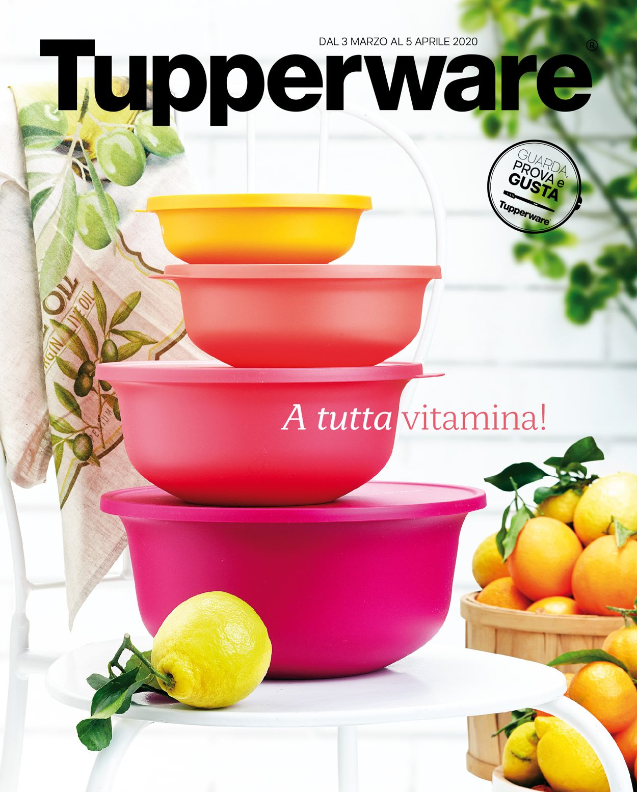 Volantino Tupperware - Offerte 03/03-05/04/2020