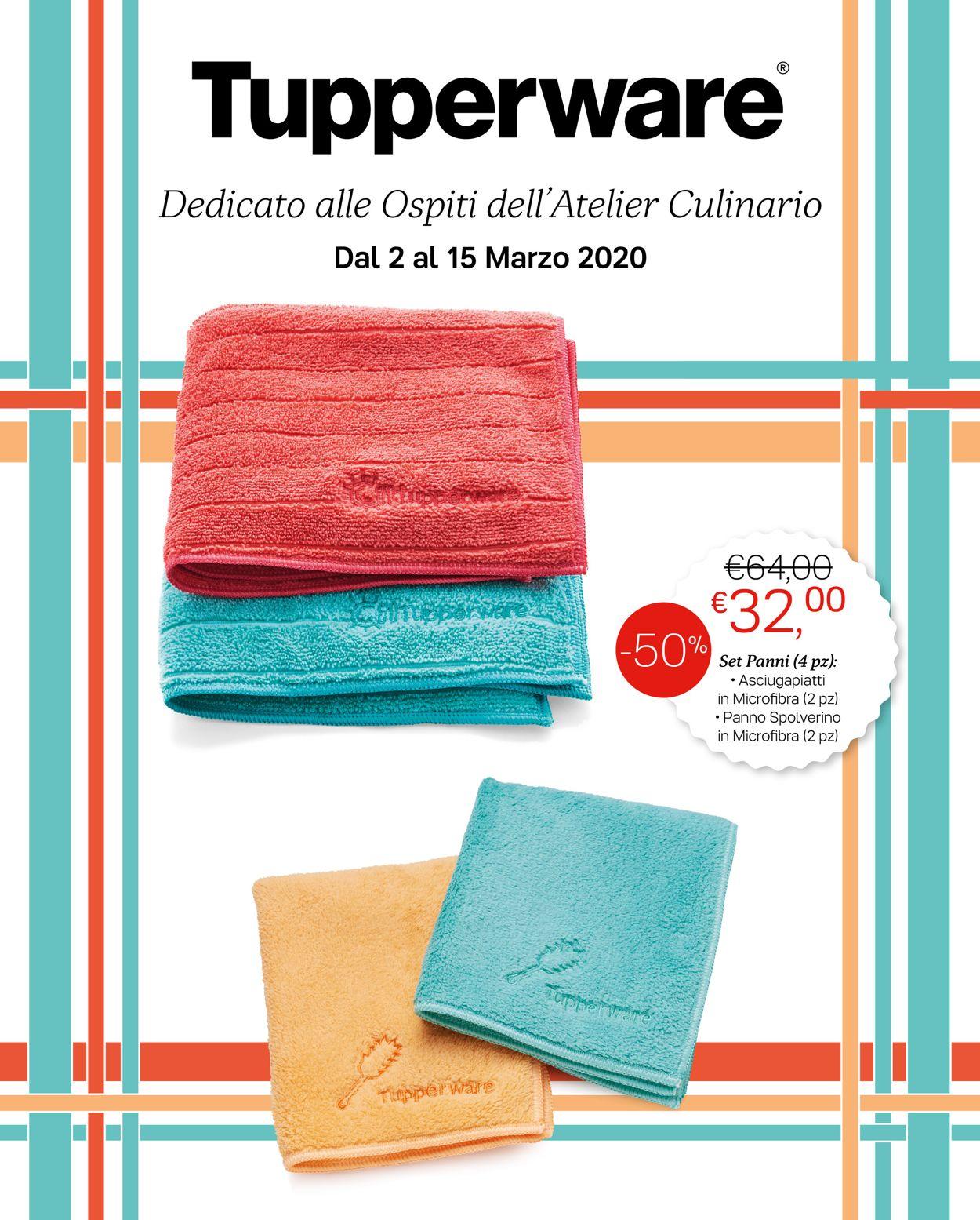 Volantino Tupperware - Offerte 02/03-15/03/2020