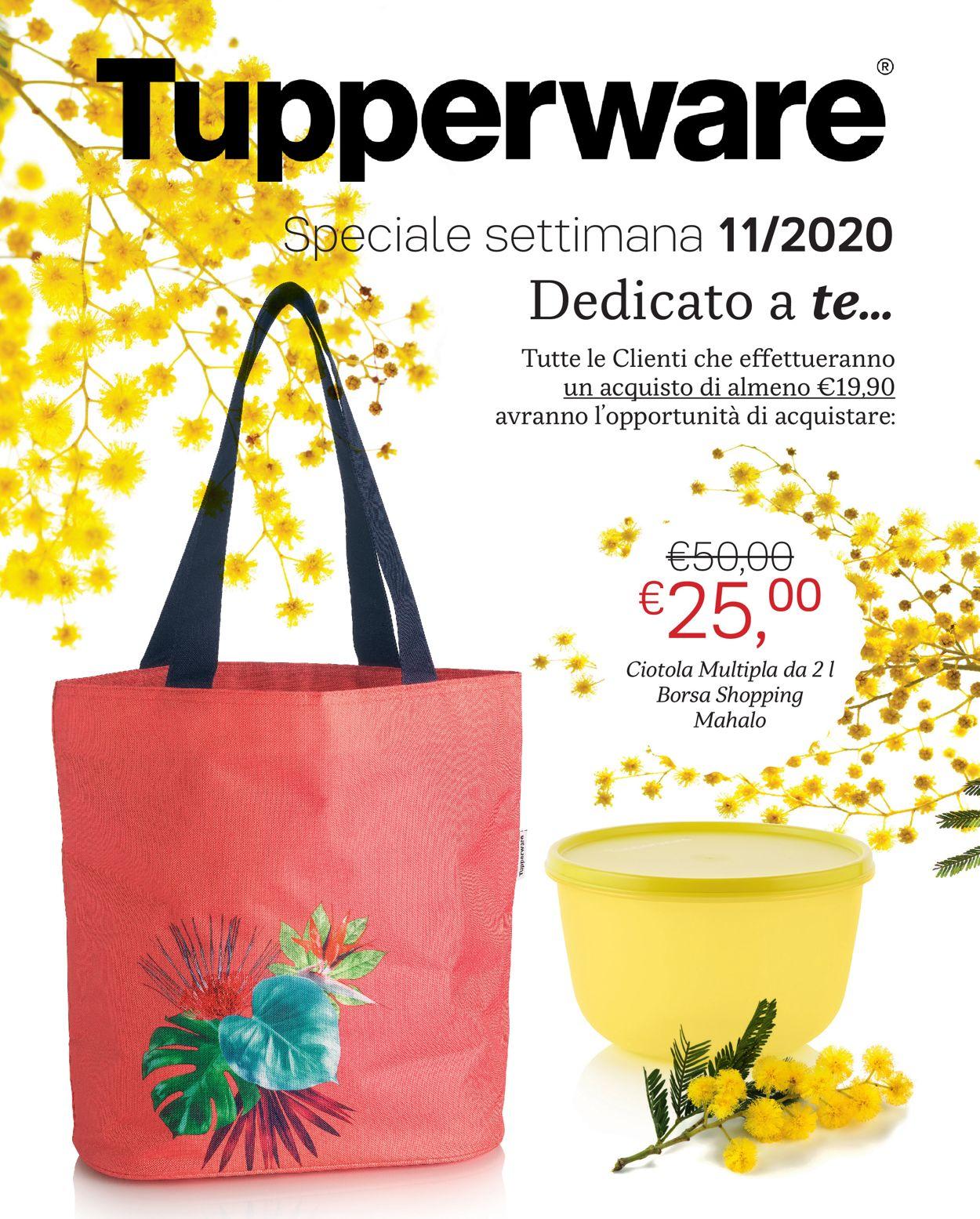 Volantino Tupperware - Offerte 11/03-31/03/2020