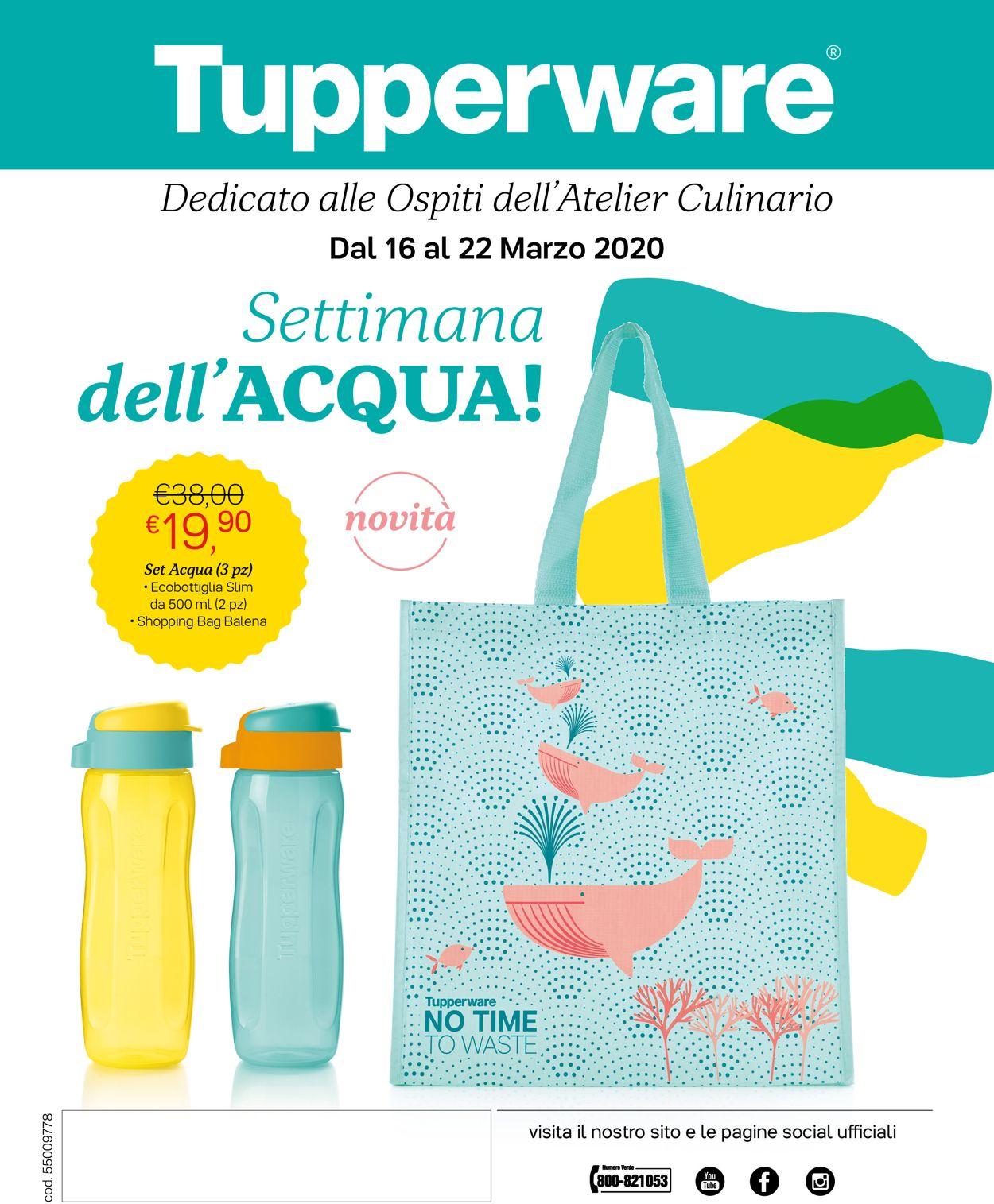 Volantino Tupperware - Offerte 16/03-22/03/2020