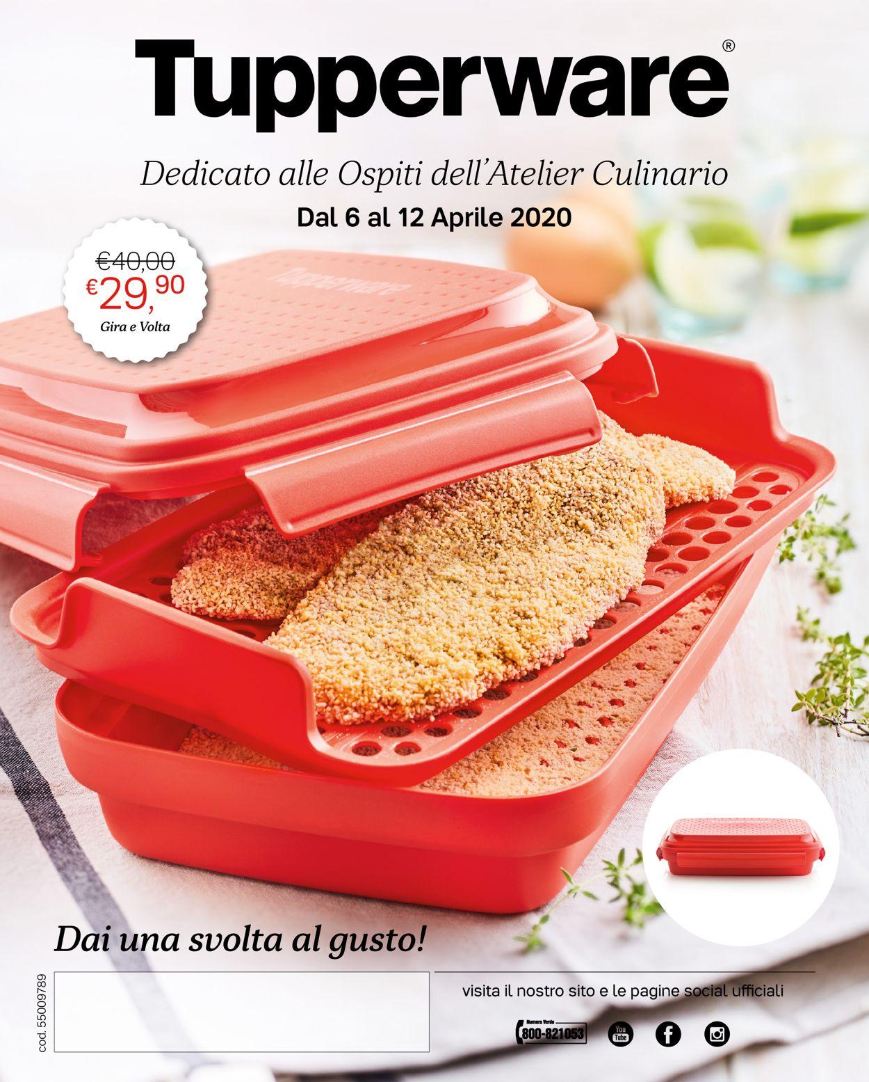 Volantino Tupperware - Offerte 06/04-12/04/2020