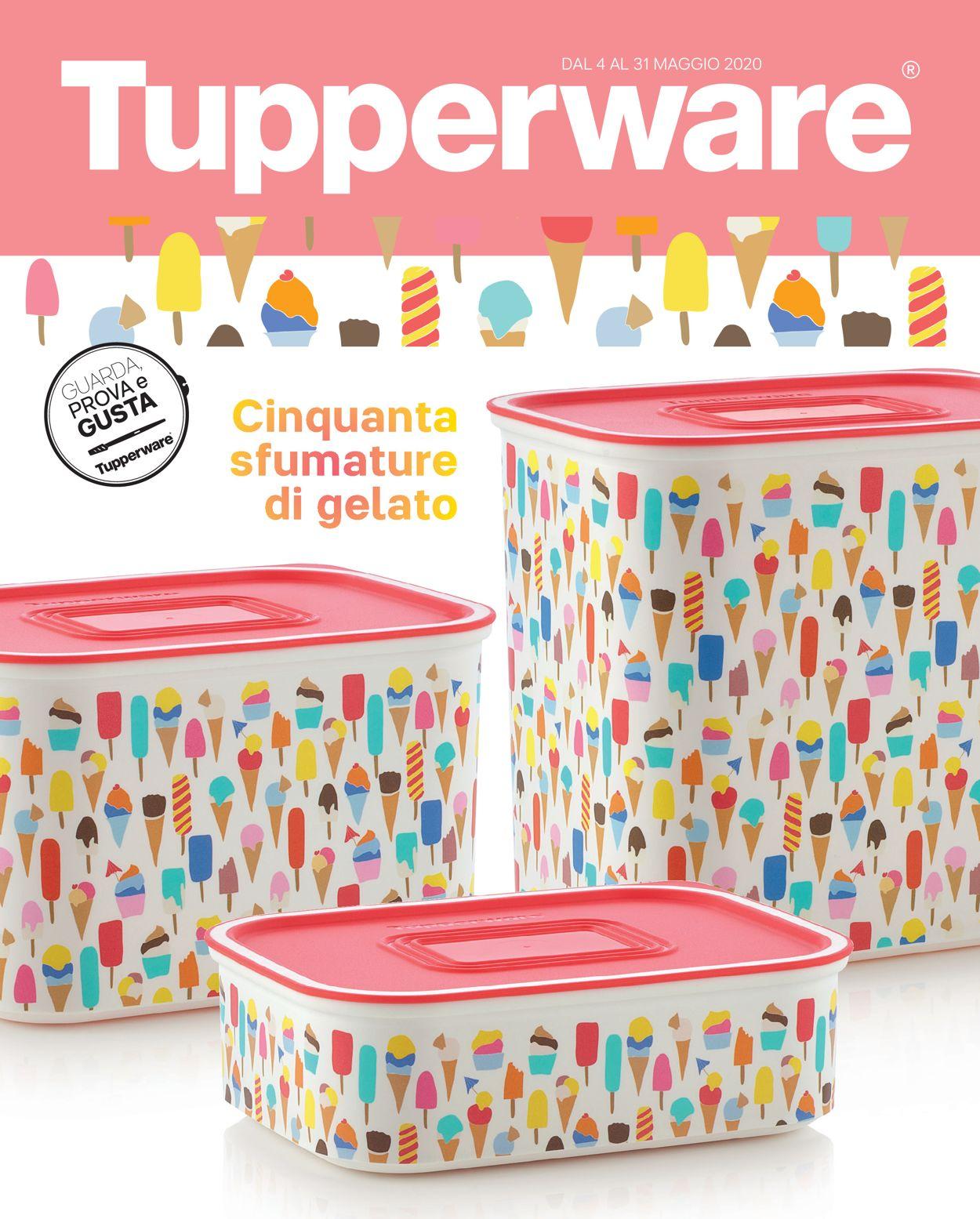 Volantino Tupperware - Offerte 04/05-31/05/2020