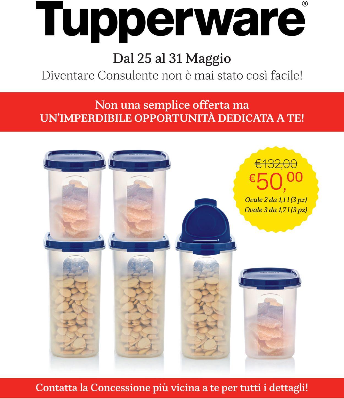 Volantino Tupperware - Offerte 25/05-31/05/2020