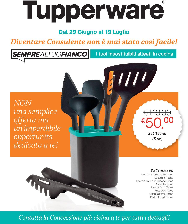 Volantino Tupperware - Offerte 29/06-19/07/2020