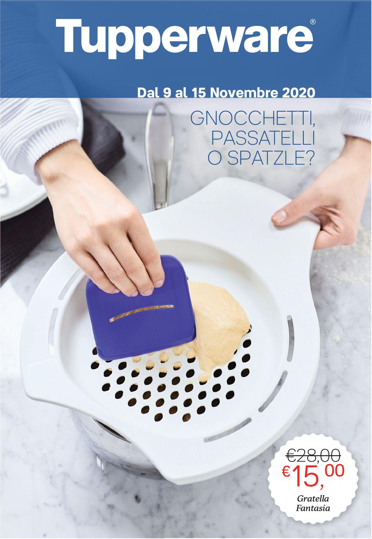 Volantino Tupperware - Offerte 09/11-15/11/2020