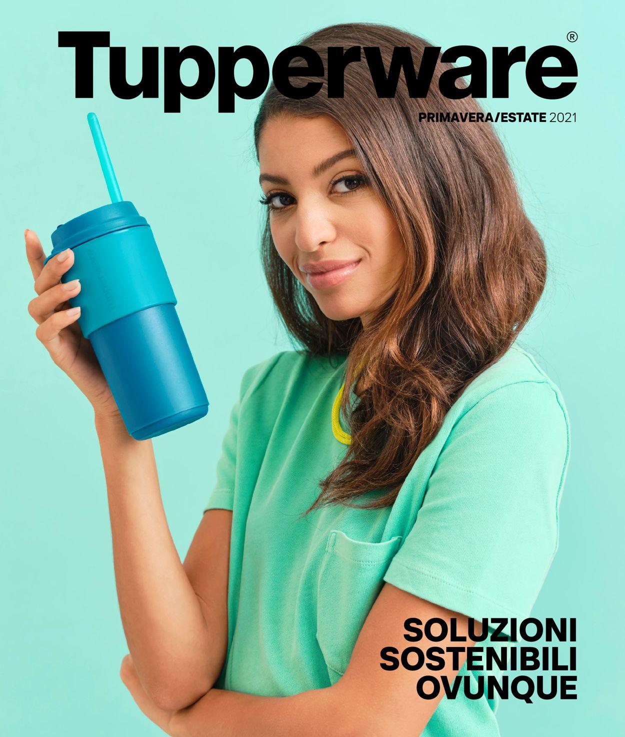 Volantino Tupperware - Offerte 04/05-31/08/2021