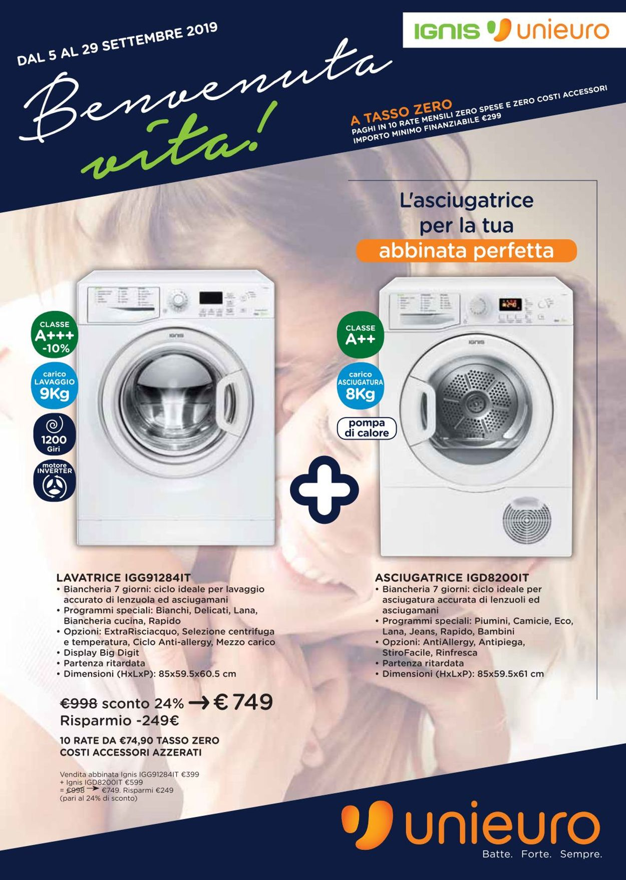 Volantino Unieuro - Offerte 05/09-29/09/2019