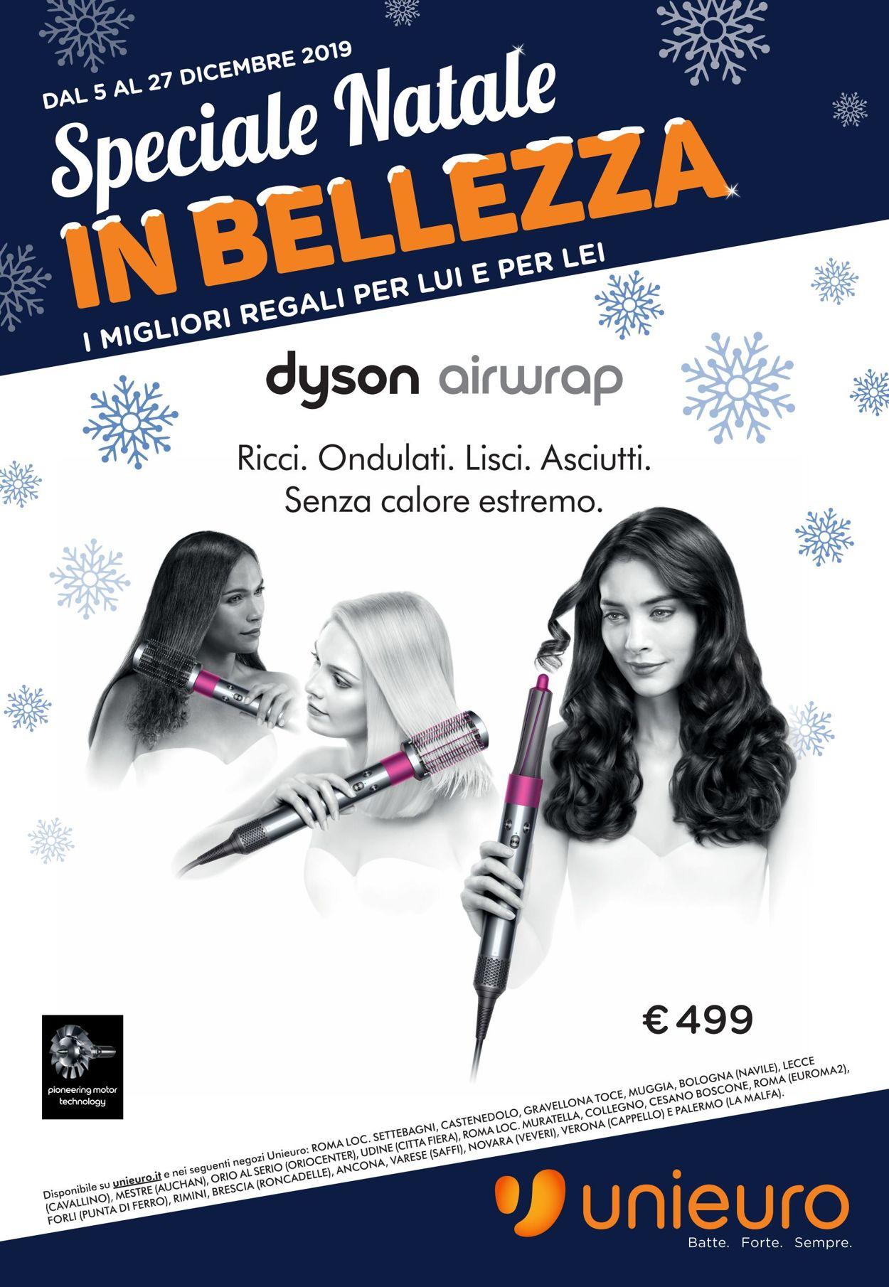 Volantino Il volantino natalizio di Unieuro - Offerte 05/12-27/12/2019