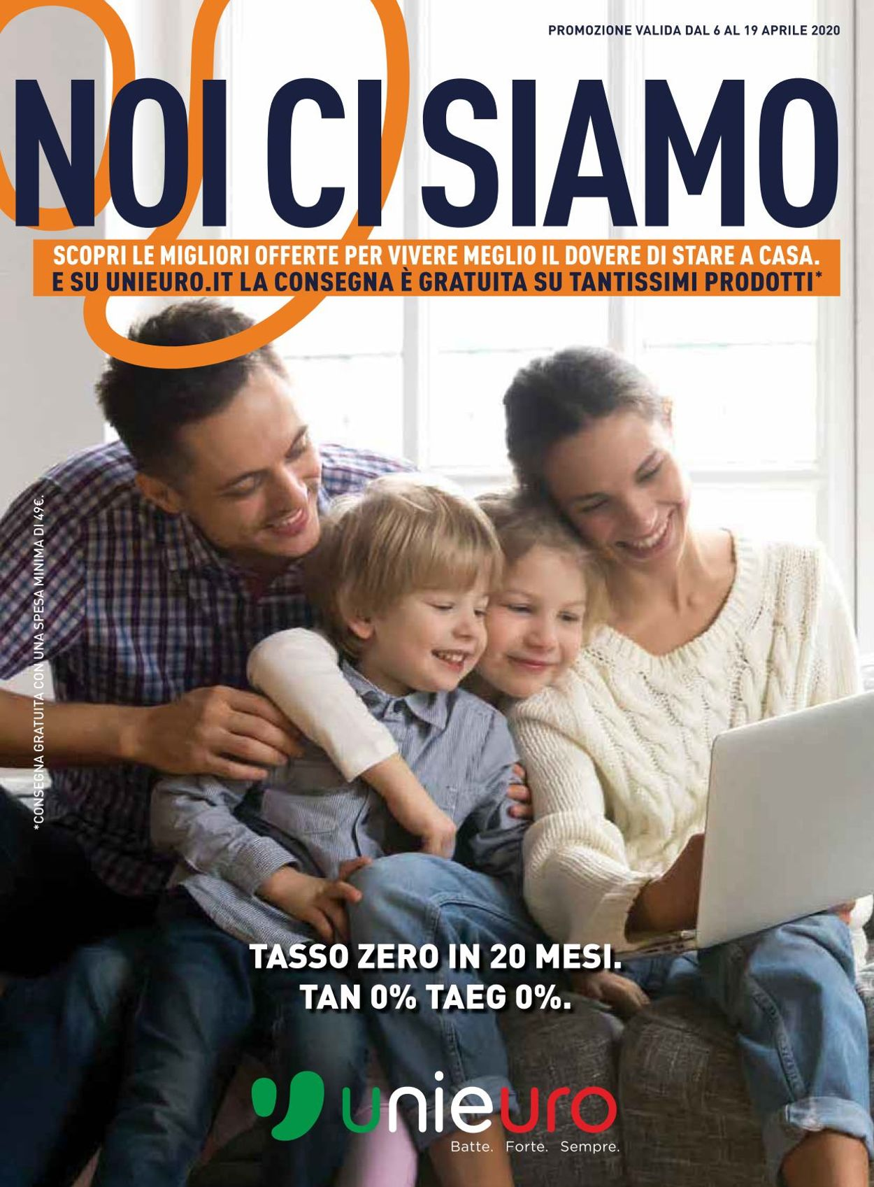 Volantino Unieuro - Offerte 06/04-19/04/2020