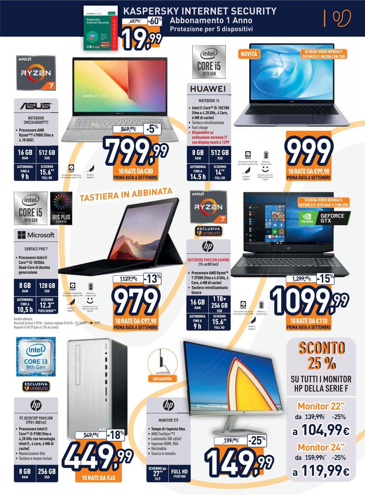 Volantino Unieuro - Offerte 09/07-23/07/2020 (Pagina 13)