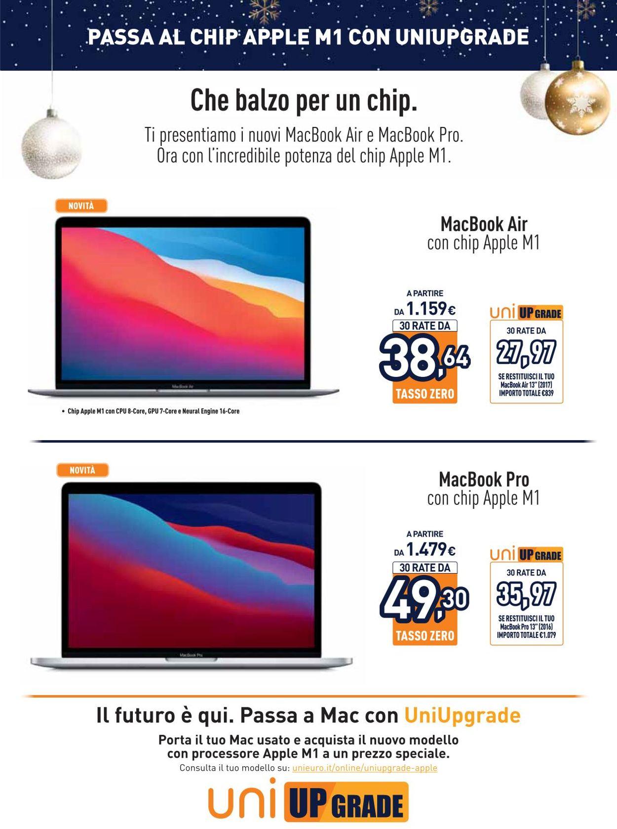 Volantino Unieuro - Apple Magix Xmas 2020 - Offerte 14/12-21/12/2020 (Pagina 10)