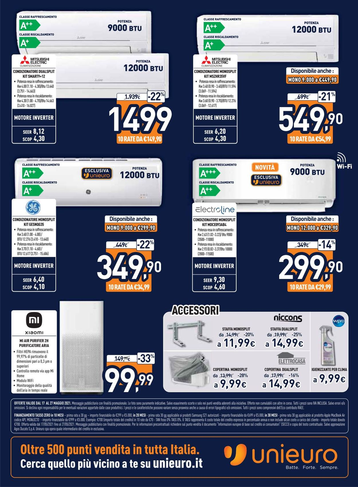 Volantino Unieuro - Offerte 17/05-27/05/2021 (Pagina 33)
