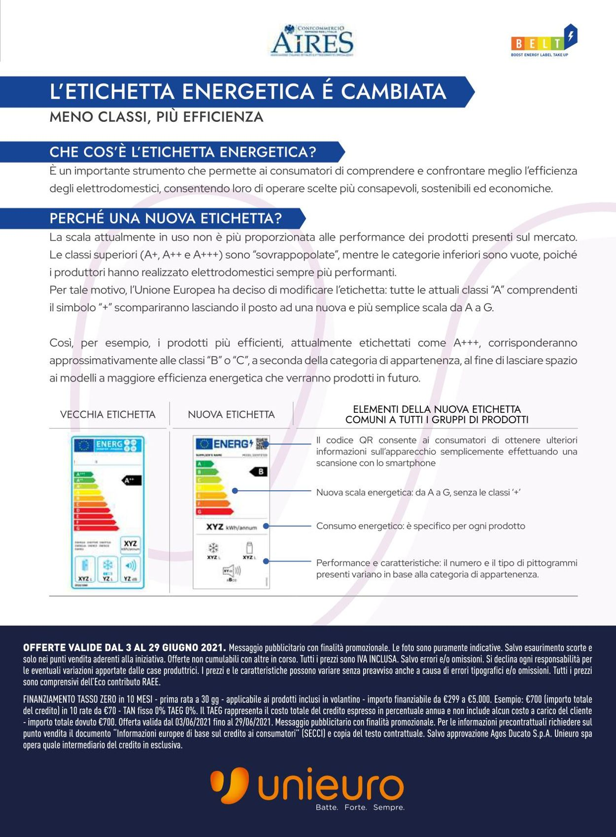 Volantino Unieuro - Offerte 03/06-29/06/2021 (Pagina 17)