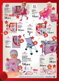 Il volantino natalizio di Carrefour
