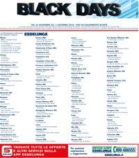 Esselunga BLACK DAYS 2019