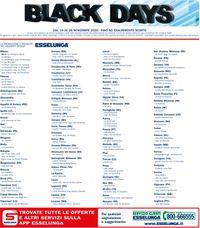 Esselunga Black Friday 2020