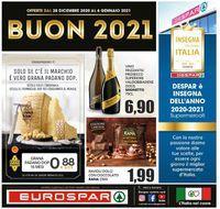 Eurospar -  Capodanno 2021