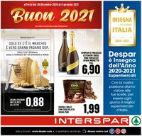 Interspar -  Capodanno 2021