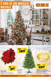 Il volantino natalizio di OBI
