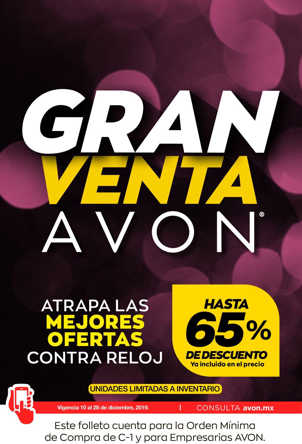 Avon Folleto - 10.12-28.12.2019