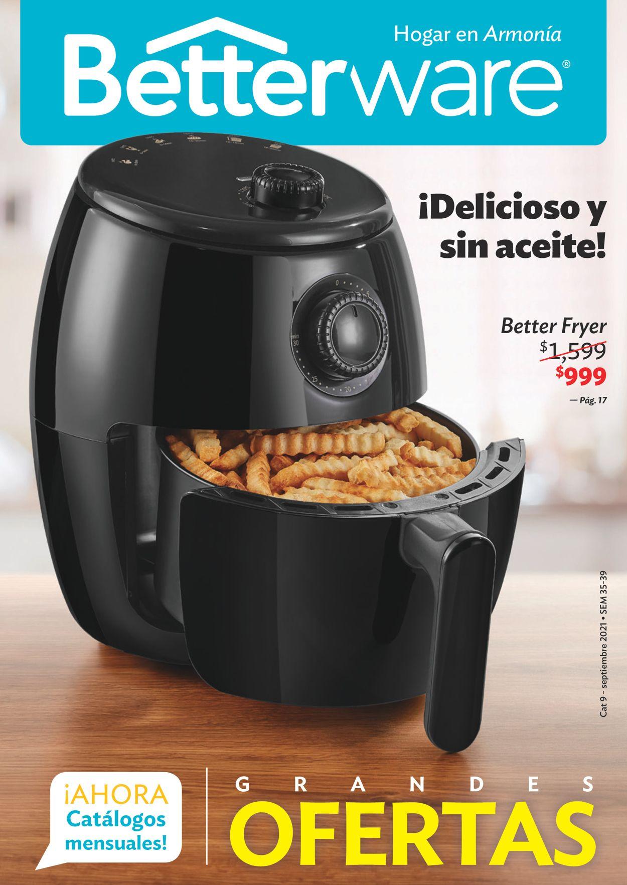 BetterWare Folleto - 30.08-02.10.2021