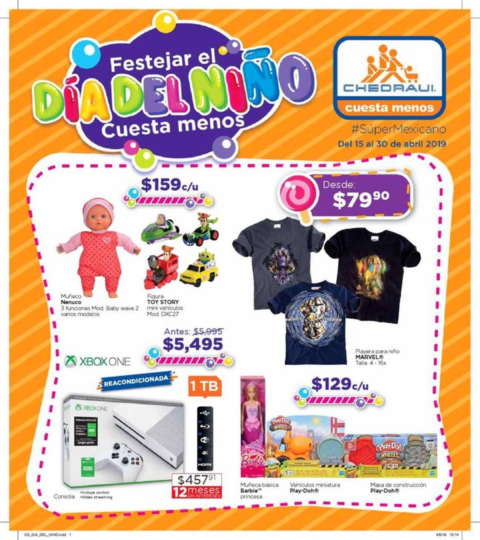 Chedraui Folleto - 15.04-30.04.2019