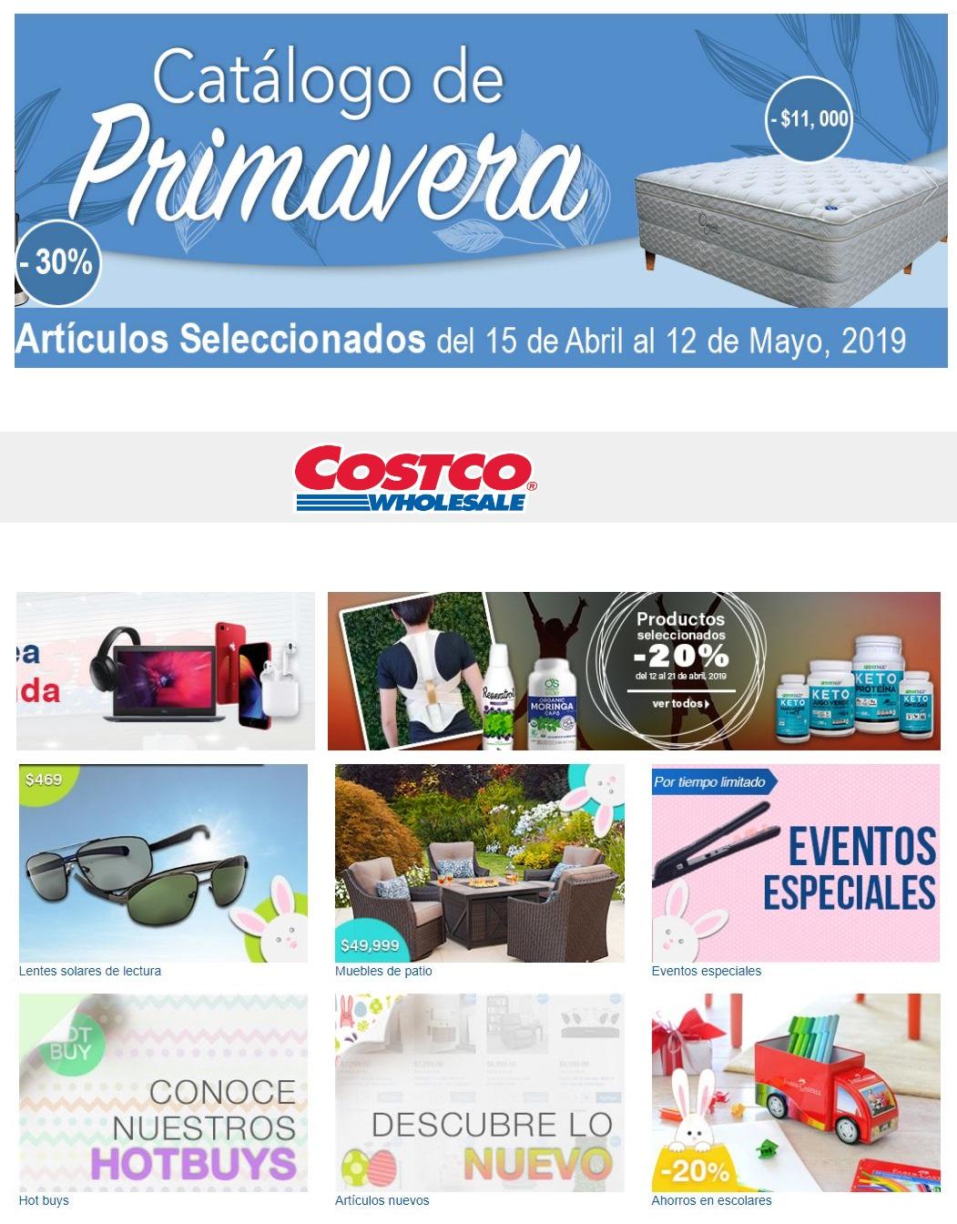 Costco Folleto - 15.04-12.05.2019