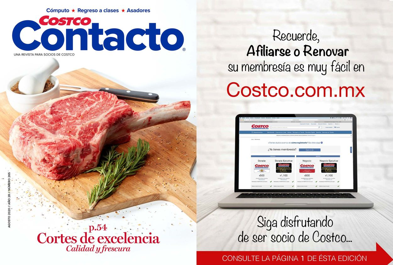 Costco Folleto - 01.08-31.08.2020