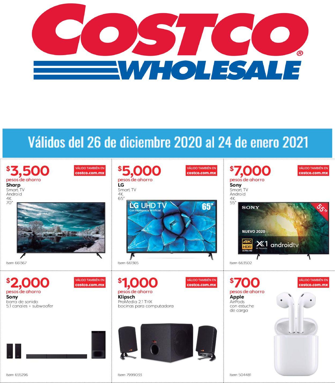 Costco Folleto - 26.12-24.01.2021