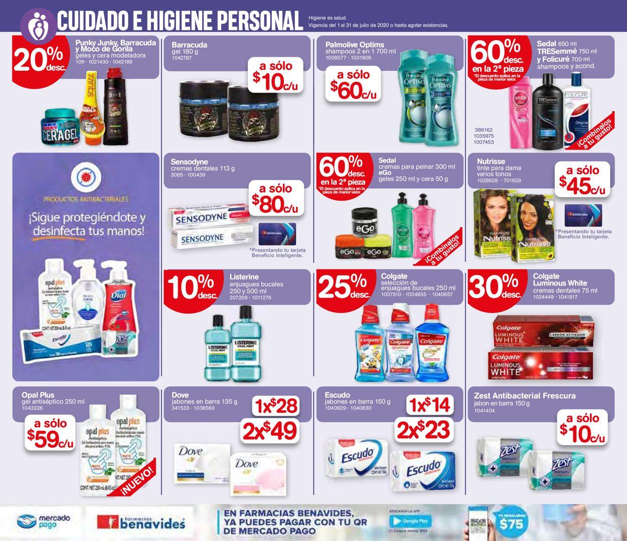 Farmacias Benavides Folleto - 01.07-31.07.2020 (Página 16)