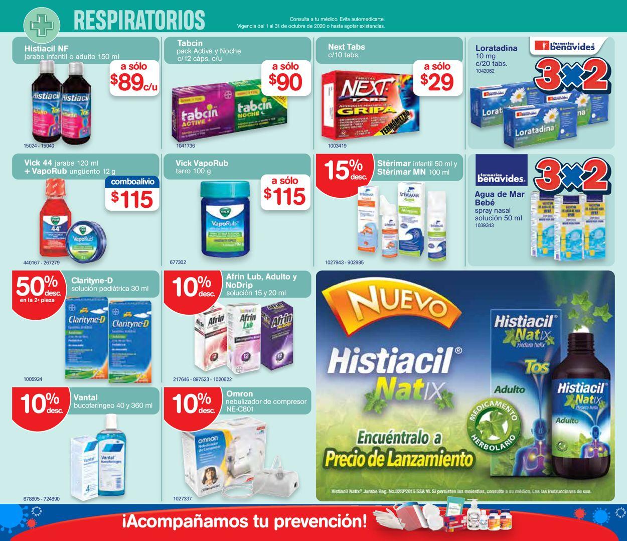 Farmacias Benavides Folleto - 01.10-31.10.2020 (Página 4)