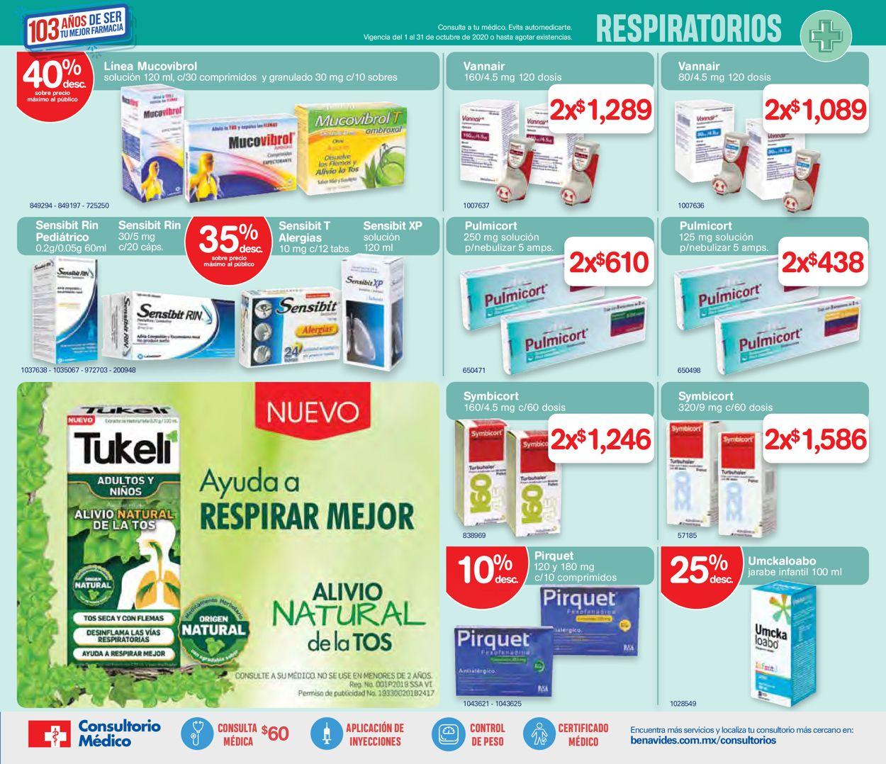 Farmacias Benavides Folleto - 01.10-31.10.2020 (Página 5)