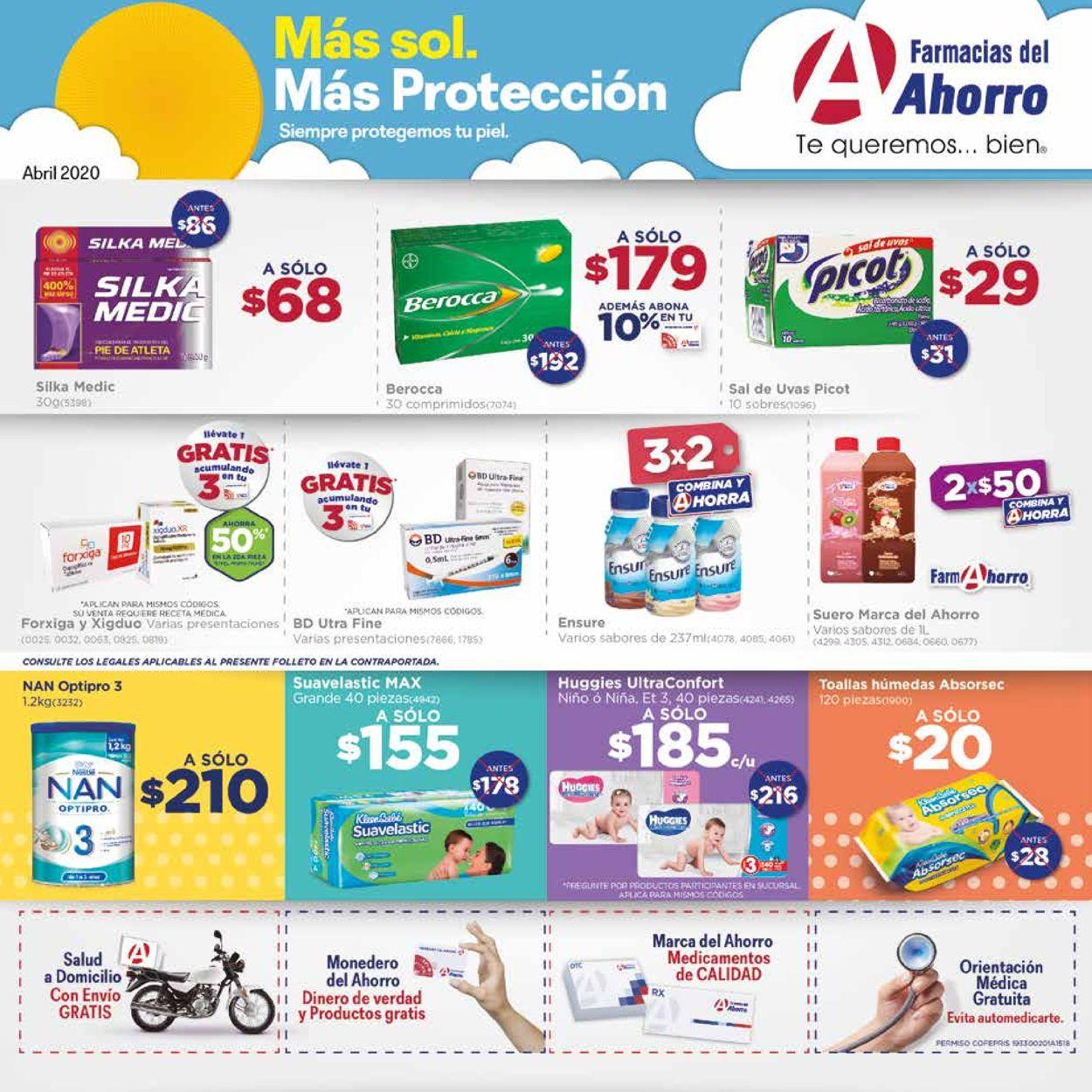 Farmacias del Ahorro Folleto - 01.04-30.04.2020